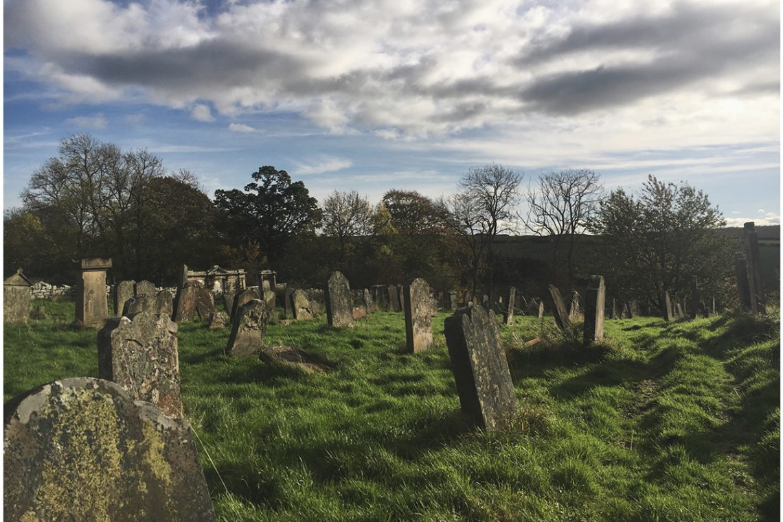 Lennel_kirkyard_view_long_shadows_trees