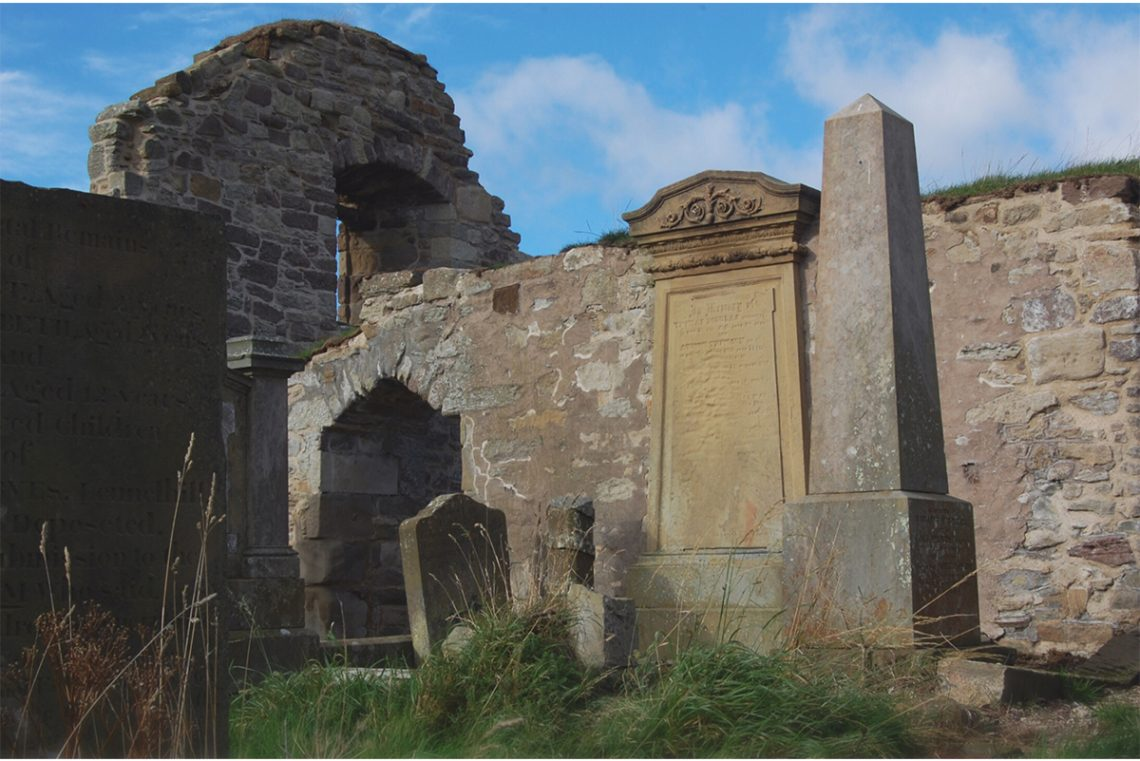 Gravestones_outside_Lennel_kirk