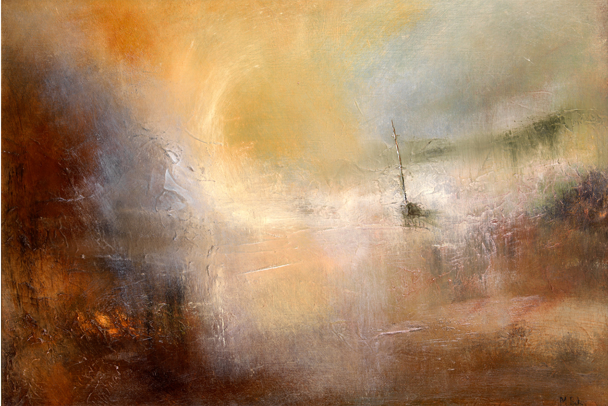 Borders-Art-Fair-Michael-Batey-turneresque-landscape-scottish-borders