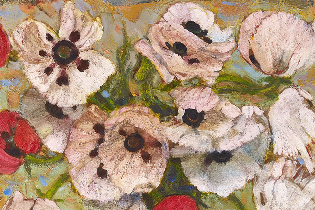 Scottigh-Gallery-Borders-Art-Fair-Robin-Philipson-Poppies-Detail