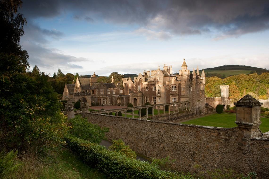 2-Abbotsford-House-in-ShadowsMelrose-Scottish-Borders