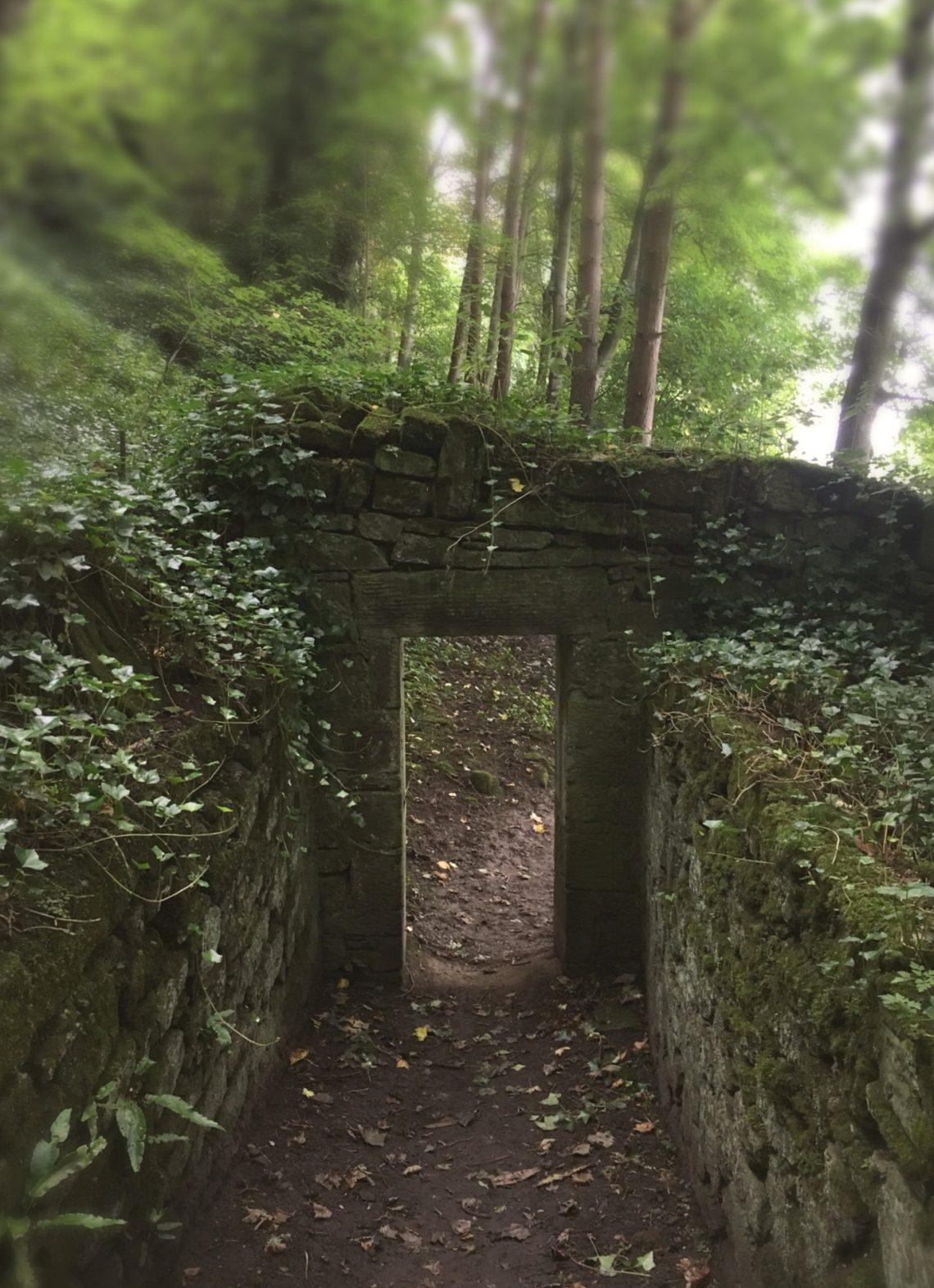 abandoned-door-river-walk-milne-graden-scottish-borders