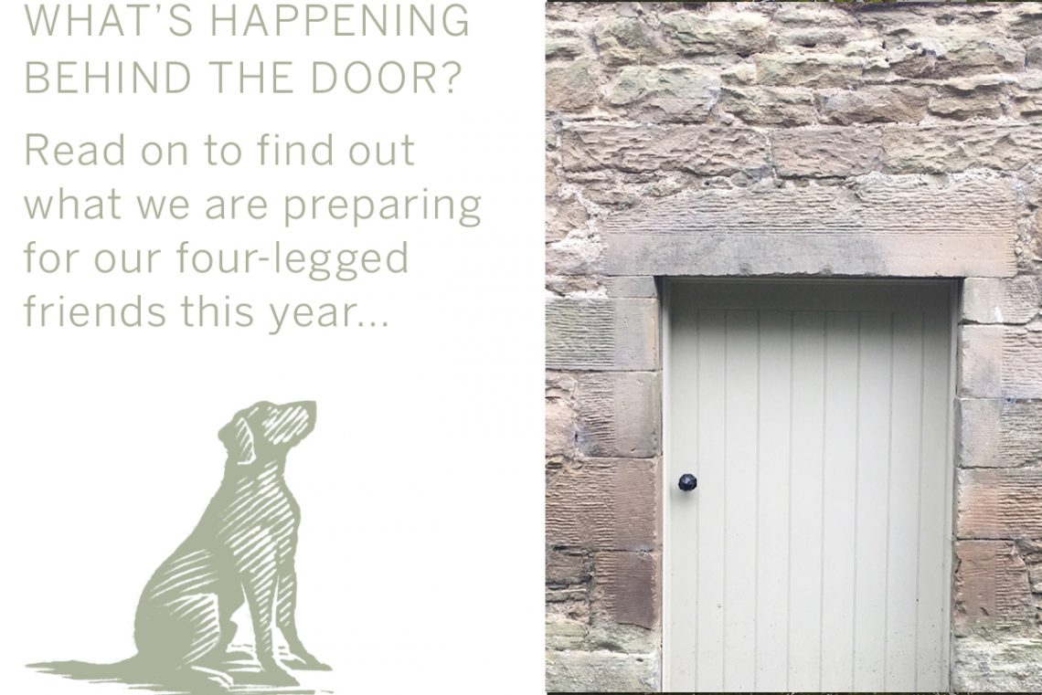 The first of it's kind, Milne Graden are opening a dog park especially for their four legged visitor this spring
