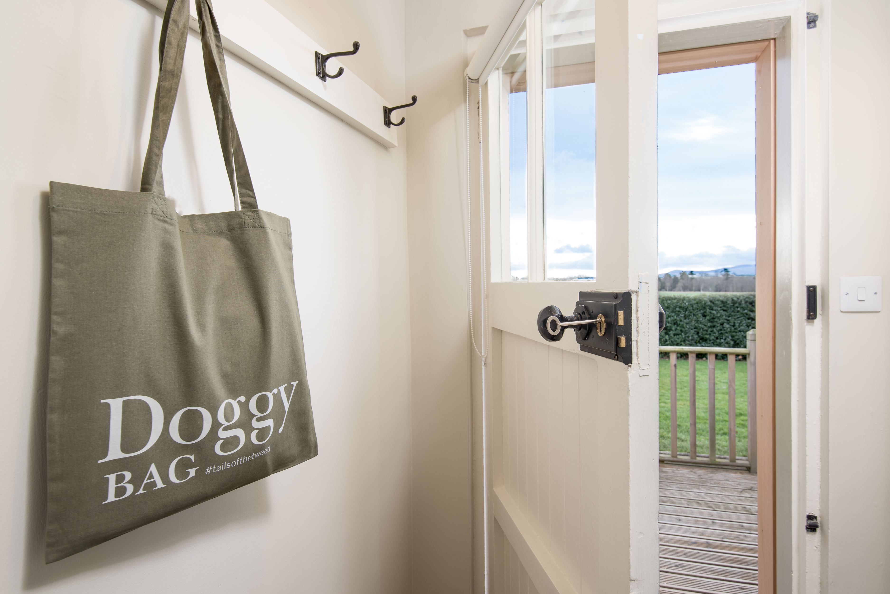 Tails of the Tweed Dog Park Doggy Bag North Lodge
